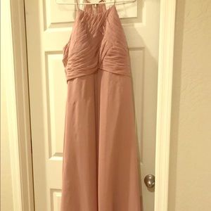 Azazie dusty rose. US size 16 woman. Worn one time